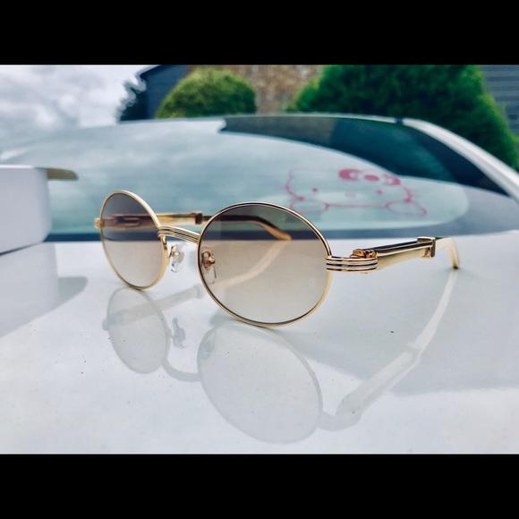 f9cf1e8e5310 18k Gold Cartier Sunglasses. M 5c3e9526a5d7c63874290070. Other Accessories  ...